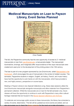 Pepperdine Library News